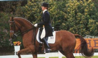 Farewell Enfant: Vicky Thompson-Winfield's Olympic ride passed away
