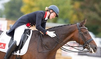 Butler and Tomlinson make their mark at Oldenburg CDI4*