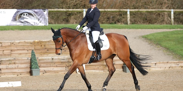 Georgie Rockingham and September Song. Ideal Saddles Combined Training 2020 c EmmPix