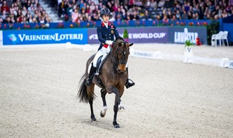 Dujardin and Fry excel at Amsterdam World Cup qualifier